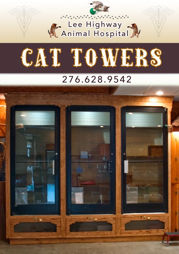 Cat Towers - The Cat's Annex - Lee Highway Animal Hospital - Abingdon, VA